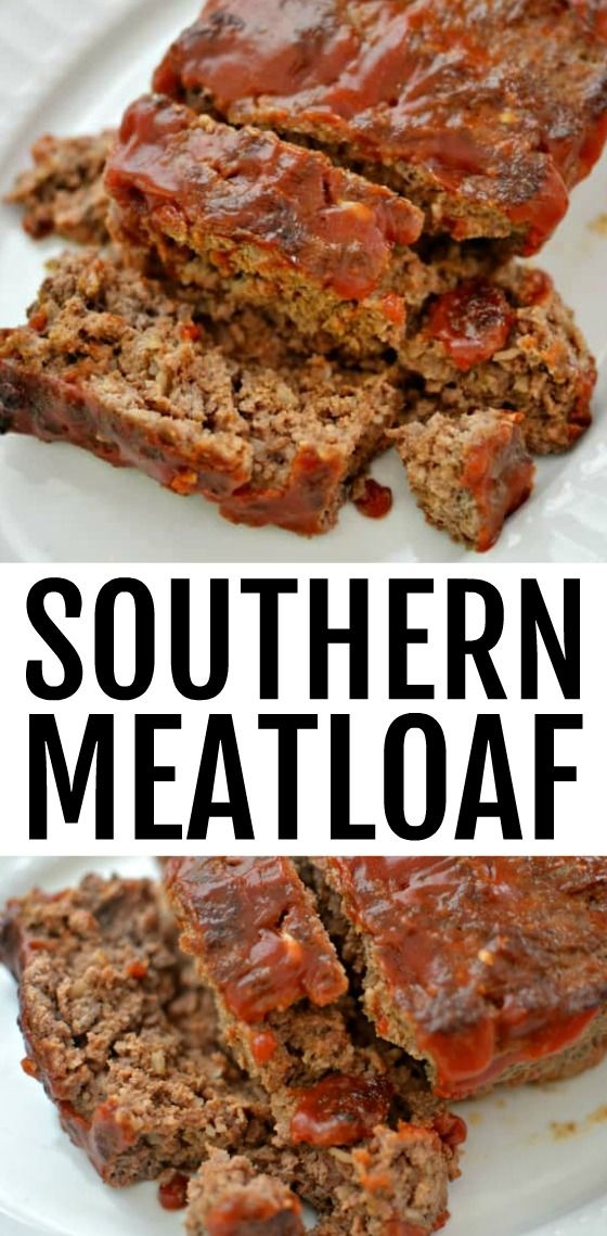 Photo of Easy Southern Meatloaf Recipe – 5 simple ingredients!