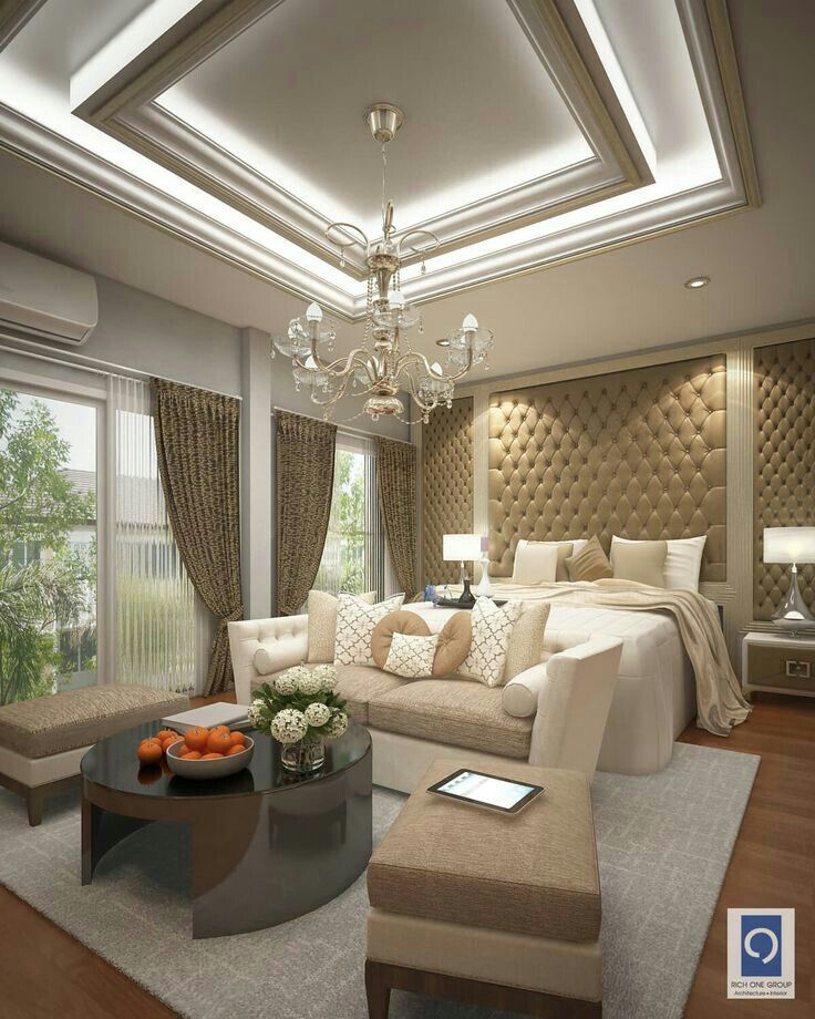 Luxury Bedroom Furniture Stores: Ceiling Design Living Room, Luxurious Bedrooms