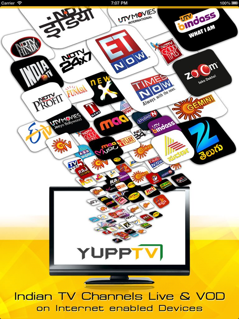 YuppTV is the first of its kind, presents a true example of how best the Media, Entertainment and Internet could be converged to enable you get access to some of the most exciting Indian TV channels via #playon