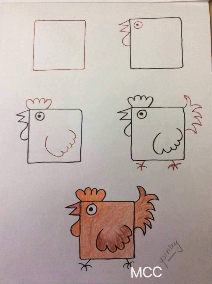 Çizim dersi: Bir Spitz çizmek nasıl