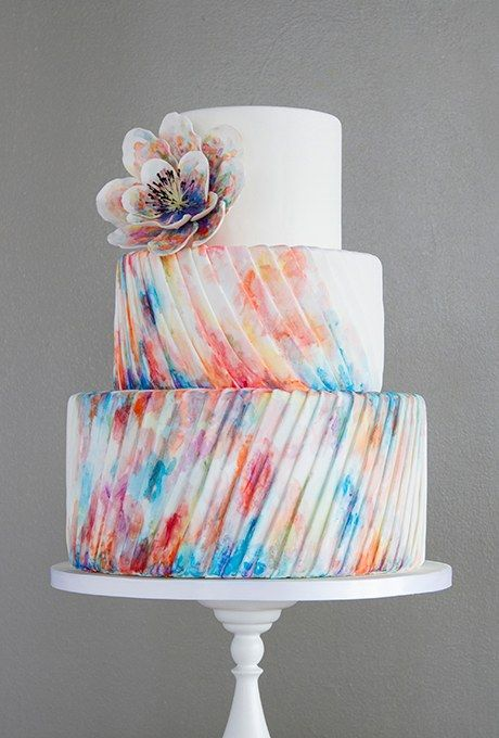 Melonie Stanger Of For Goodness Cakes Took Cues From The Fashion
