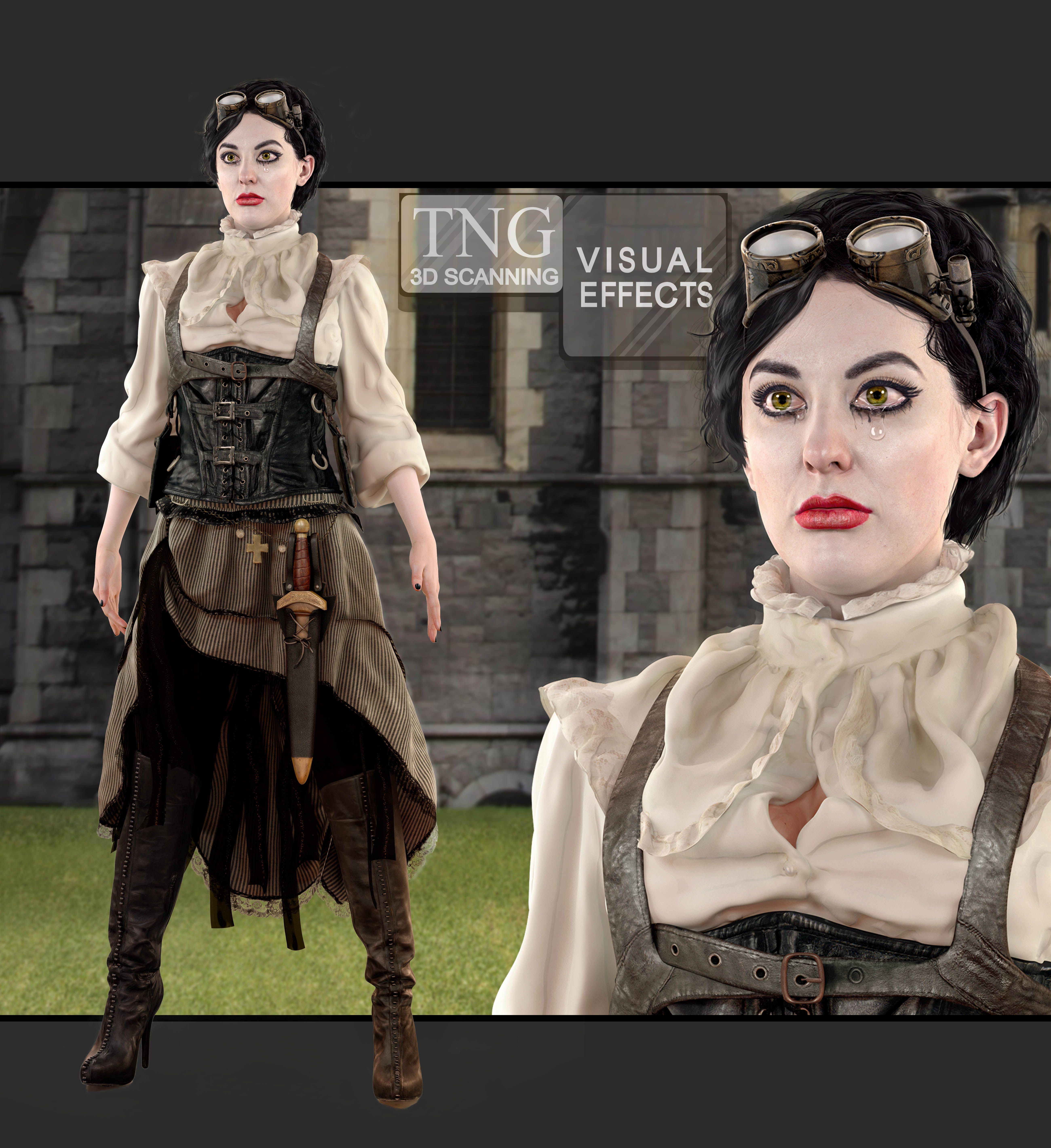 TNG VFX 3D Characters