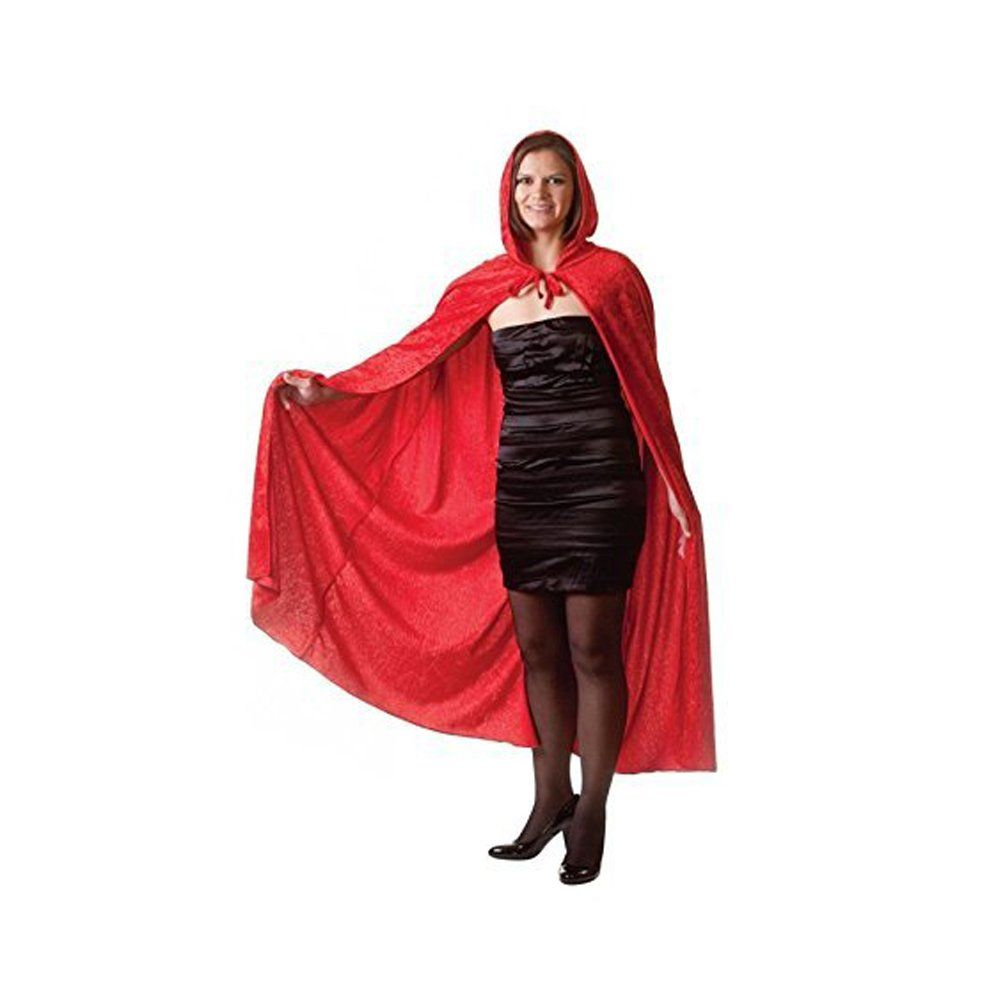 175c7250a1 Adult Red Velvet Hooded Cape Cloak Halloween Fancy Dress     Examine out  the picture by seeing the web link. (This is an affiliate link).