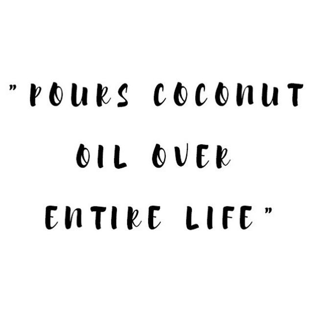 WEBSTA @ wilogreen -  Guilty ....#coconut #coconutoil