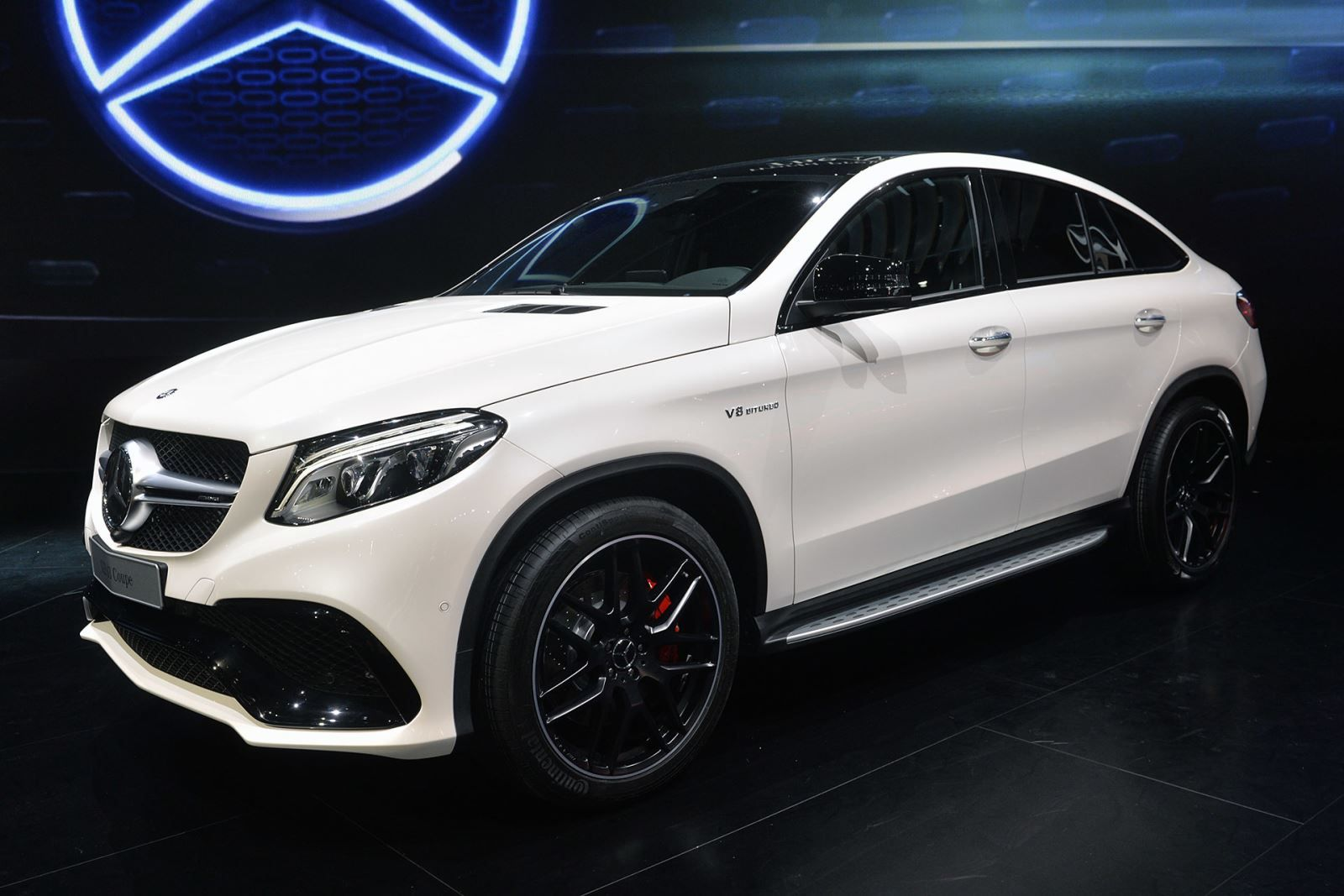 Mercedes benz gle coupe 450 amg and gle63 at 2015 for Mercedes benz amg hatchback price