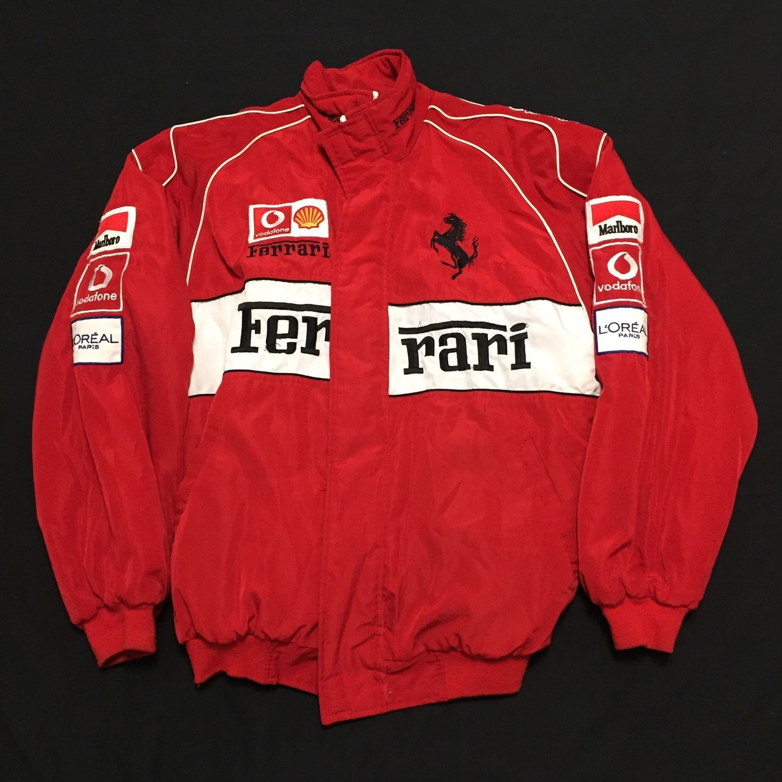 ferrari jacket products track shopmotorsport official puma red