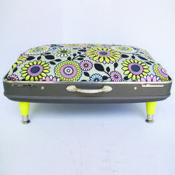 PAST DESIGNS - Excess Baggage Suitcase Pet Beds™