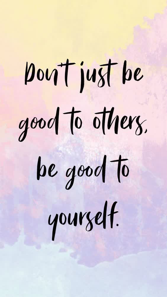 DONT JUST BE GOOD TO OTHERS    INSPIRATIONAL QUOTES   HANNAH WILLS ART