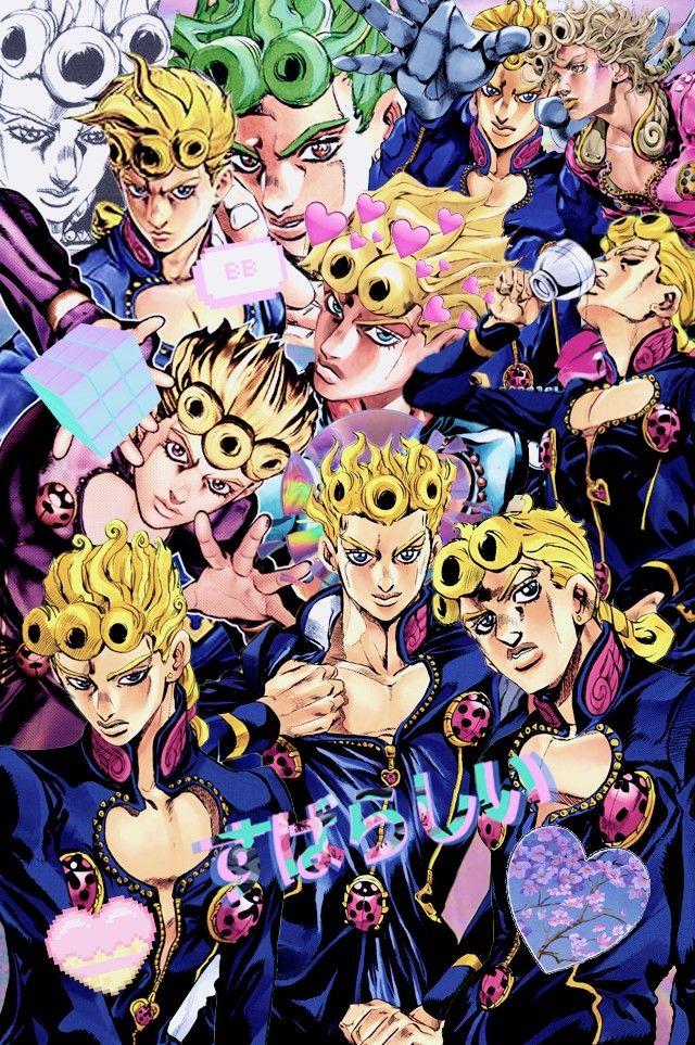 Giorno Giovanna Wallpapers Bonitos Anime Manga Anime