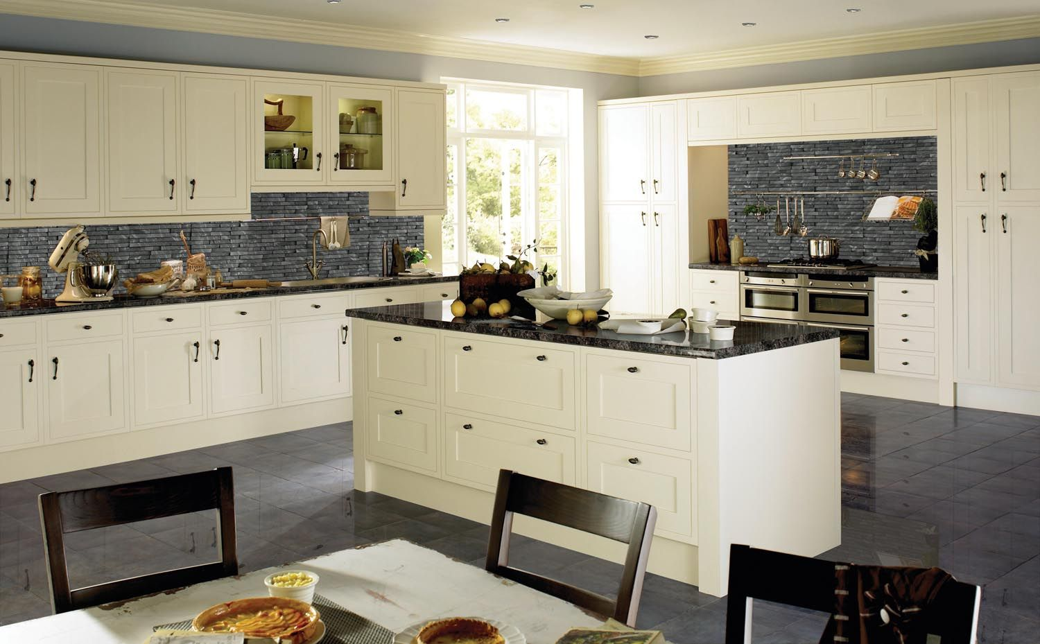 Kinder Oyster | Introducing Island Kitchens... Colonial Kitchens ...