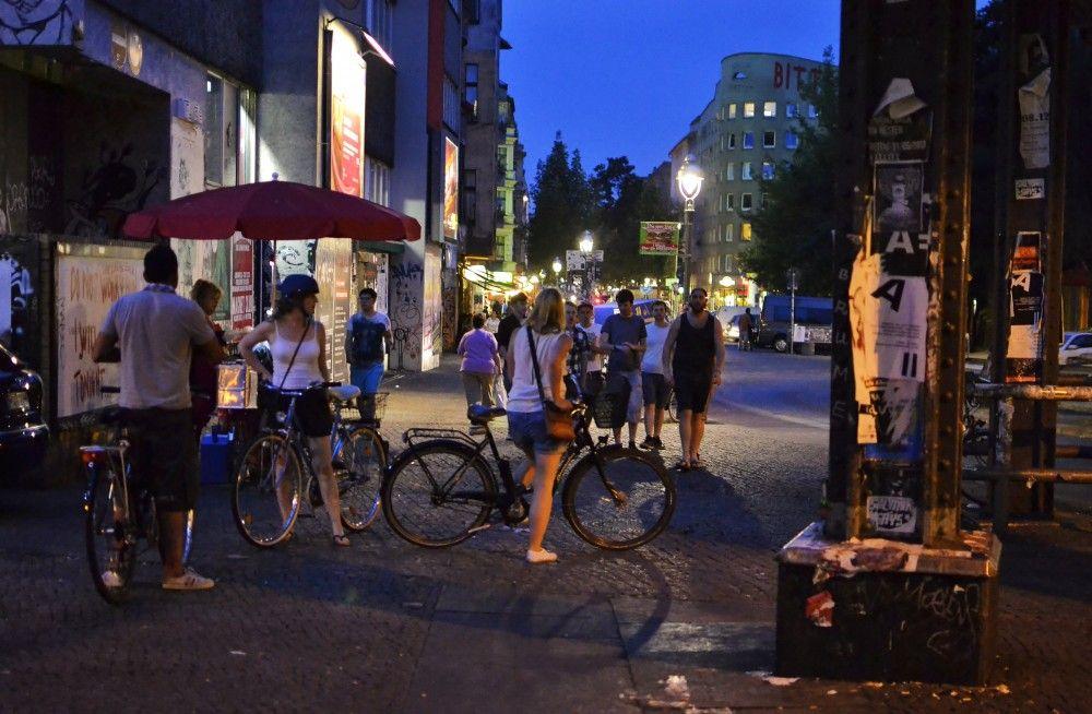 Night Scenes In Kreuzberg Berlin Germany Berlin Nightlife