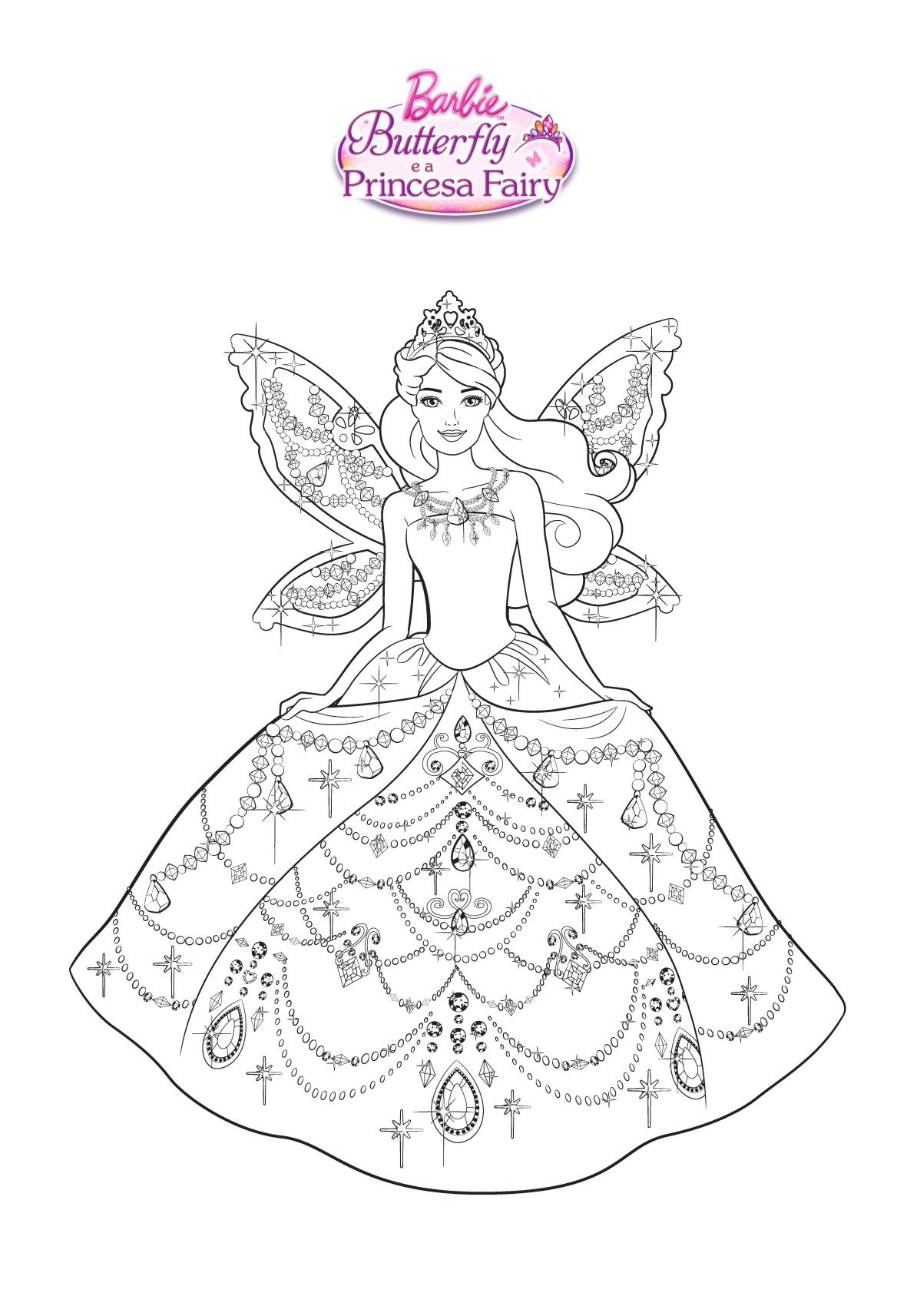 Pin By Annita Salamanca On Barbie Coloring Disney Coloring Sheets Unicorn Coloring Pages Barbie Coloring Pages