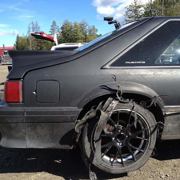 Vortech V1 Supercharger Foxbody: Wheel Wednesday! #ford#mustang#drift#drifting#car#race