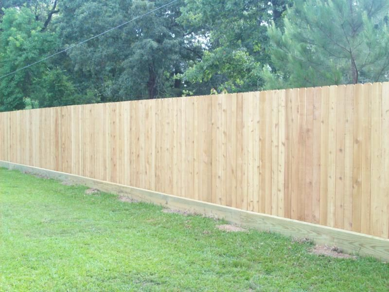 How To Build A Wood Fence On Uneven Ground - Best Image WebProXP.Com ...