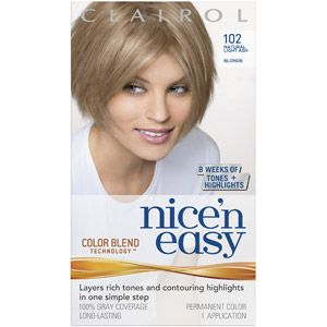 Beauty Light Ash Blonde Nice N Easy Hair Color Light Ash