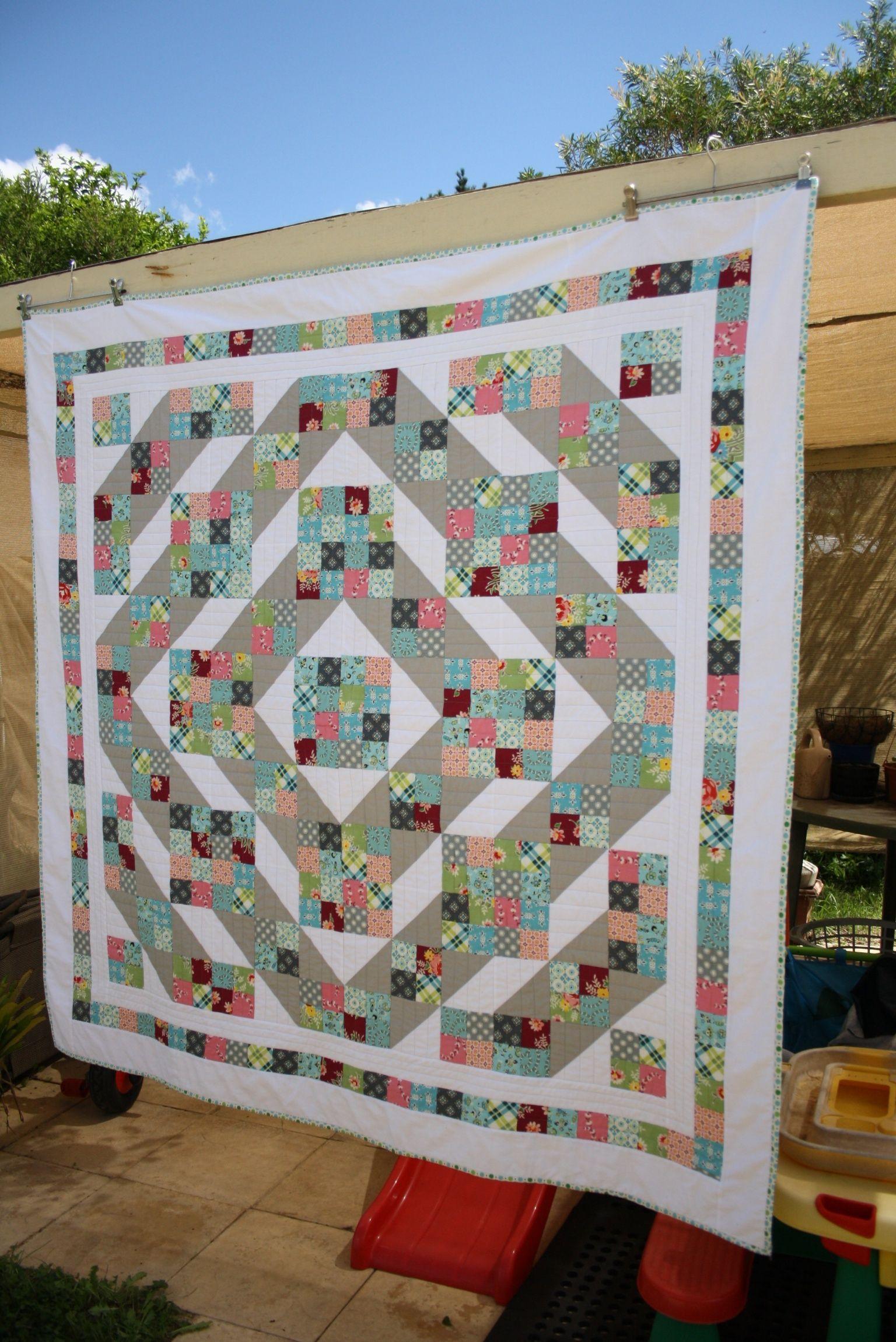 Jacob's Ladder Quilt (tutorial) | Quilting | Pinterest | Quilt ... : jacobs ladder quilt - Adamdwight.com