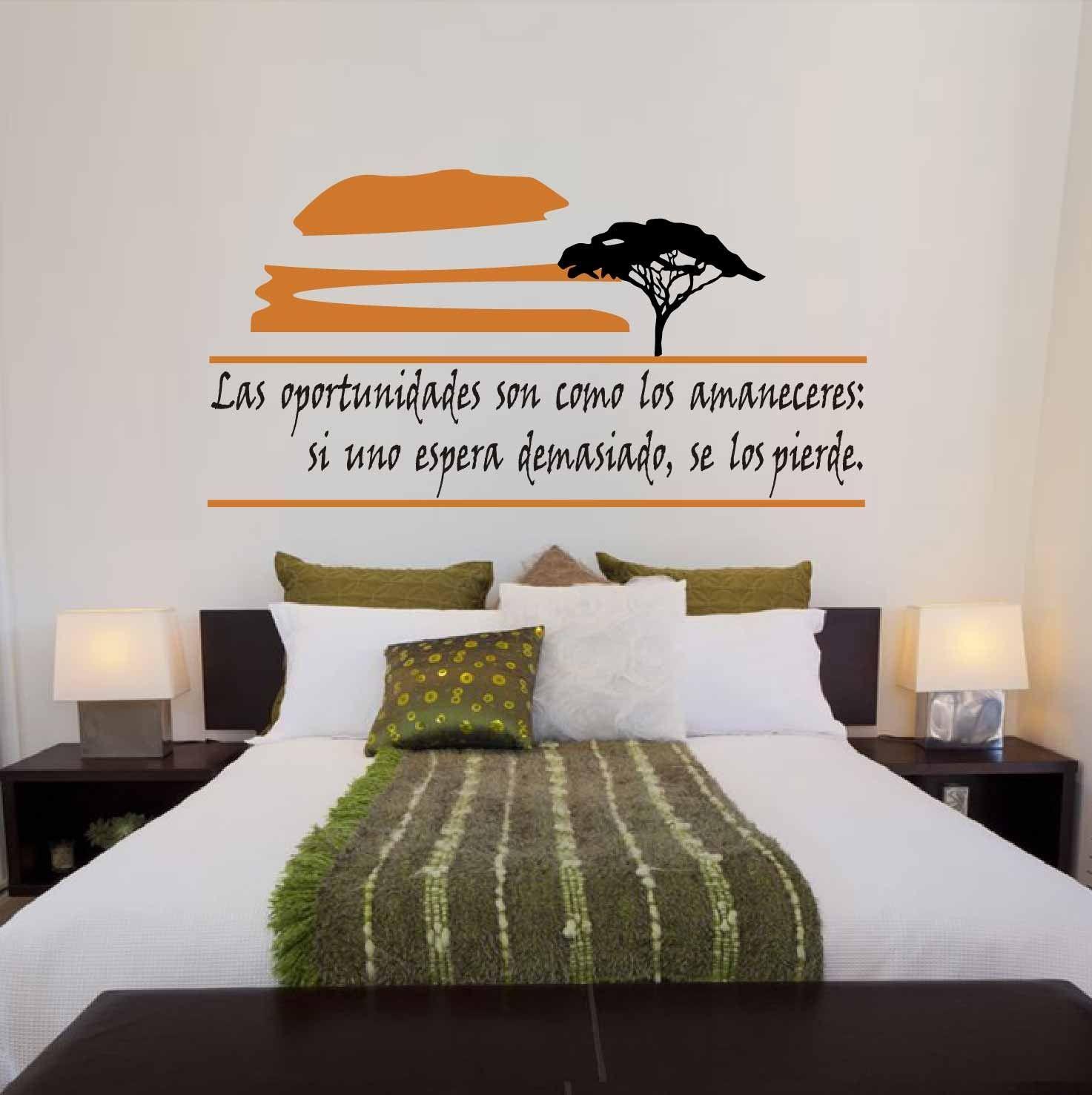 Frases en vinilo para pared dise os para mostrar for Disenos para decorar paredes de dormitorios