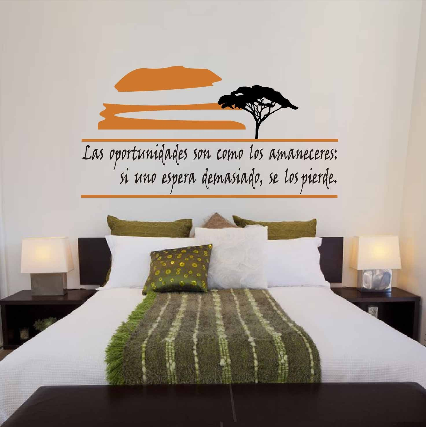 Frases en vinilo para pared decoracion de lujo pinterest for Vinilos pared frases