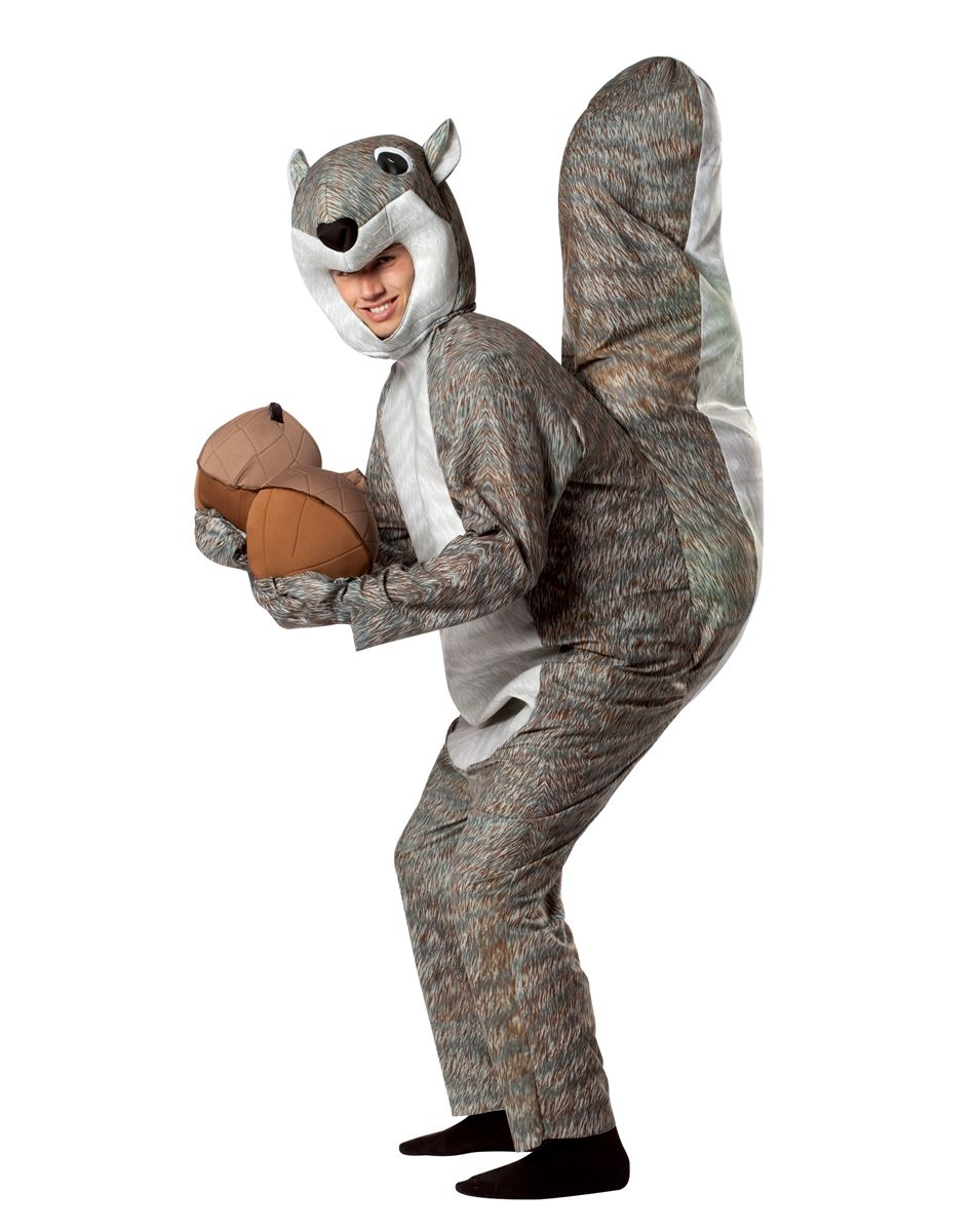 Squirrel Adult Costume u2013 Spirit Halloween  sc 1 st  Pinterest & Squirrel Adult Costume u2013 Spirit Halloween | halloween costumes ...
