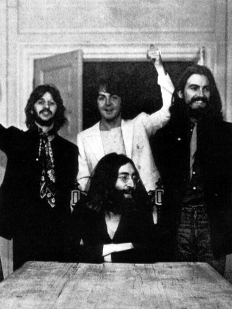 The Beatles Last Photo Shoot At John Lennons Home Tittenhurst Park Ascot UK 1969