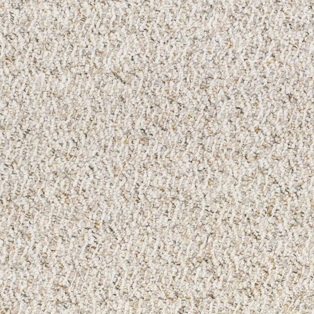 Trafficmaster Speeding Color Moonbeam Loop 12 Ft Carpet 0488d 26 12 The Home Depot Berber Carpet How To Clean Carpet Carpet