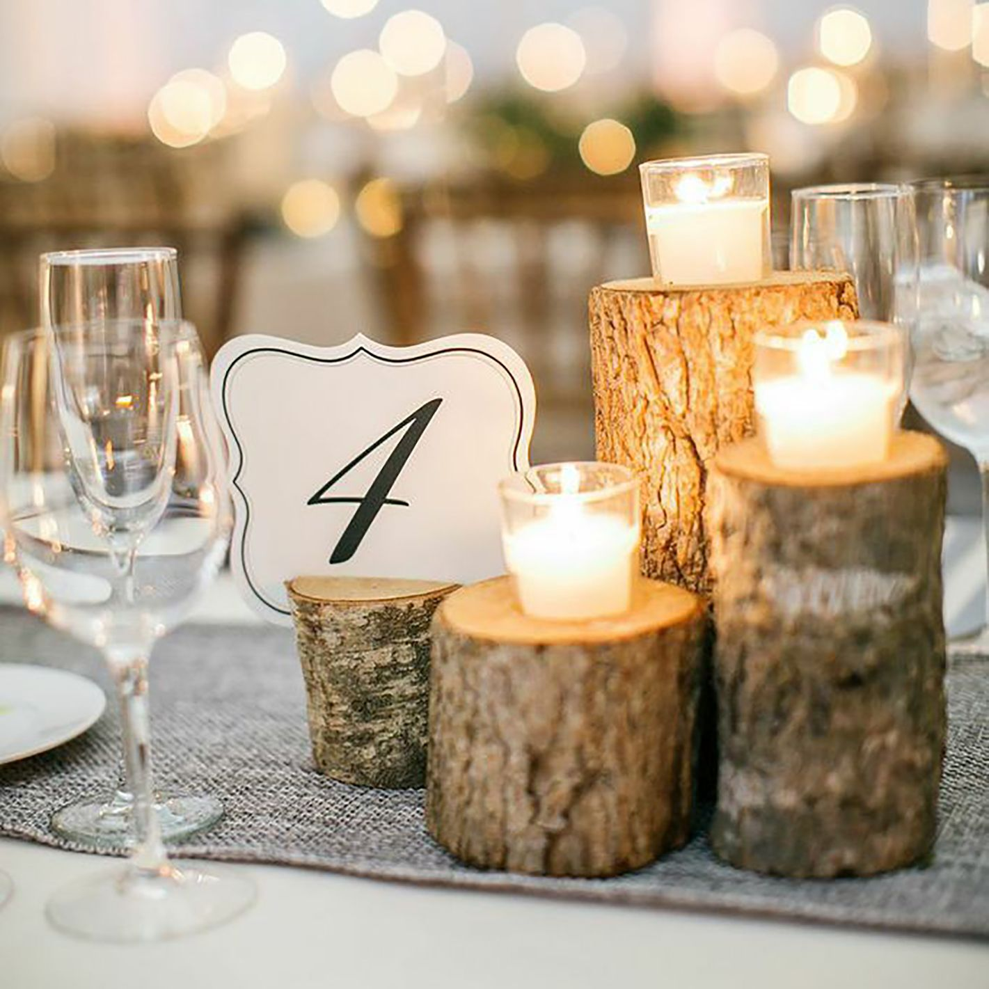 Branch Votives | Winter wedding decorations, Winter wonderland wedding, Wedding  decorations
