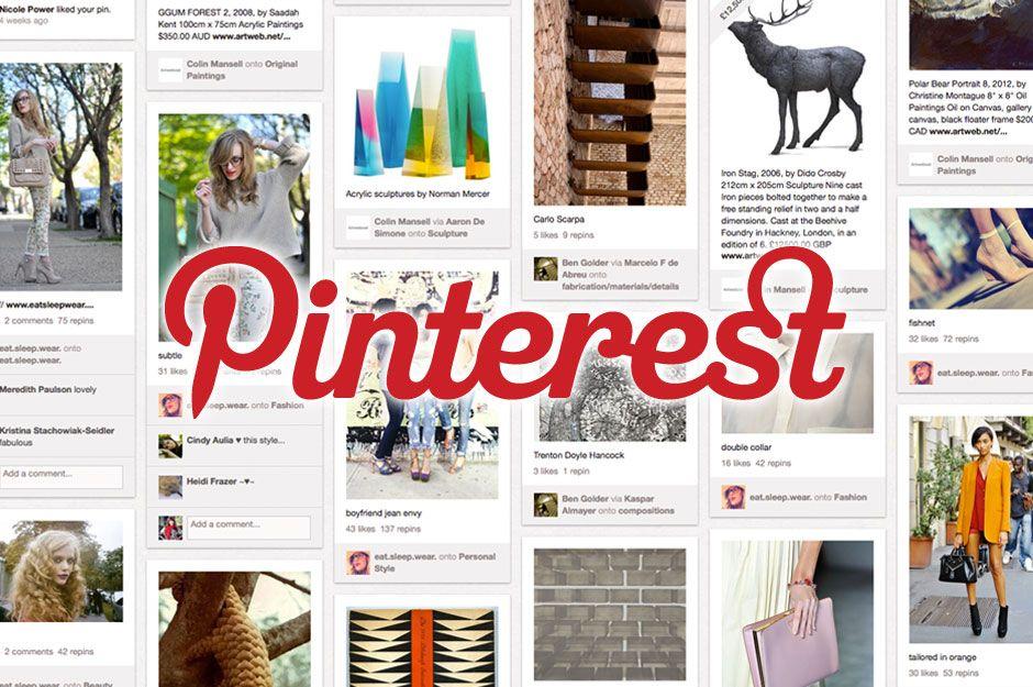 """Pinterest para compartir imágenes que permite a los usuarios crear y administrar, en tableros personales temáticos, colecciones de imágenes como eventos, intereses, hobbies y mucho más. Los usuarios pueden buscar otros pinboards, 're-pin' imágenes para sus propias colecciones o darles 'me gusta'. La misión de Pinterest es """"conectar a todos en el mundo, a través de cosas que encuentran interesantes"""
