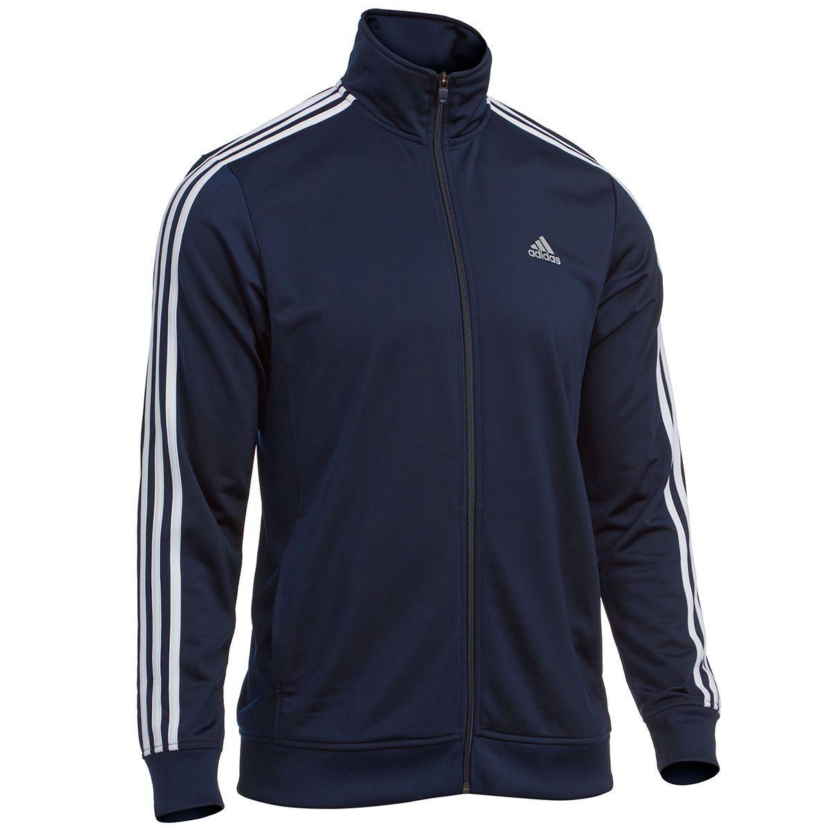 Chaqueta hombre deportiva básica para ADIDAS para hombre TALLA NWT azul marino con rayas blancas TALLA e0a39ba - hvorvikankobe.website