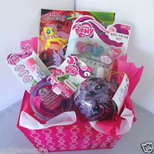 My Little Pony Themed Gift Basket For GirlsEaster BDay GiftNEW FREE SHIPPING