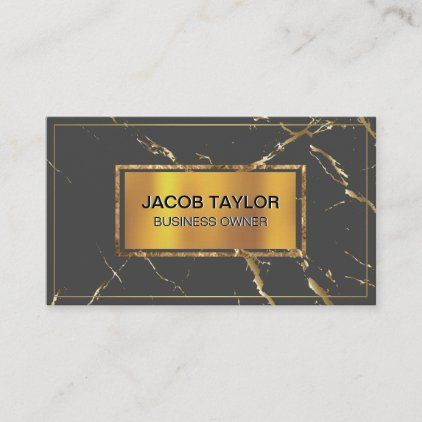 Gold Metallic Banner Gold Marble Texture Business Card Zazzle Com Business Card Texture Colorful Business Card Cool Business Cards