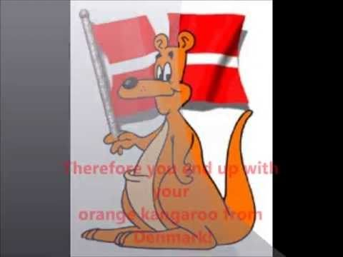 How the Orange Kangaroo from Denmark trick works! - YouTube ...