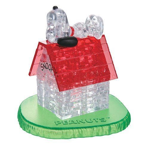 3d Crystal Puzzle Snoopy And House Bepuzzled Http Www Amazon Com Dp B00ak0m74m Ref Cm Sw R Pi Dp 22lutb0q4hm05feg Jigsaw Puzzles 3d Crystal Snoopy Dog House
