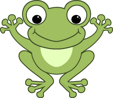 Frog Jumping Clipart Cute Frogs - ClipArt B...