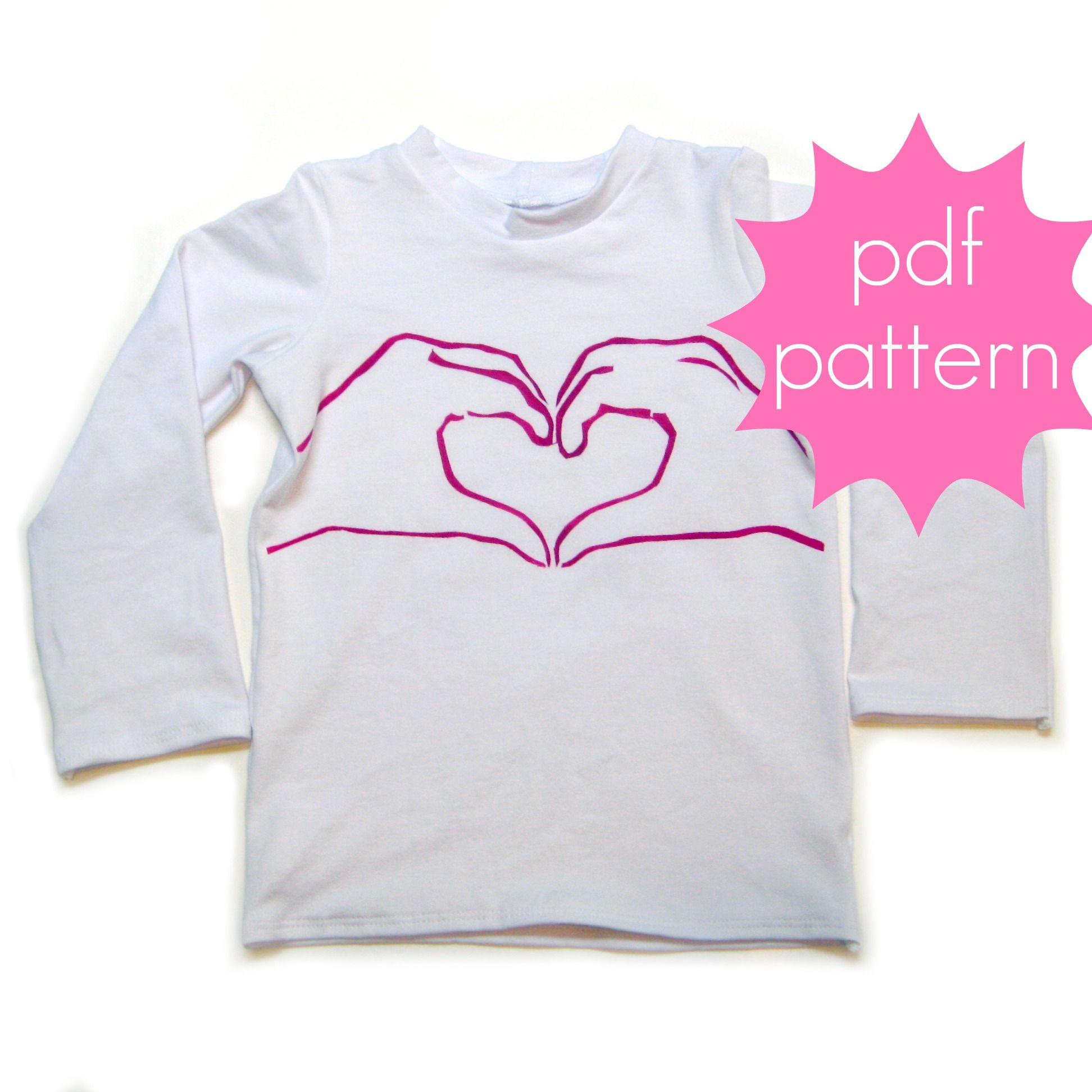Jocole Classic Knit Tee Sewing patterns, Knit tees