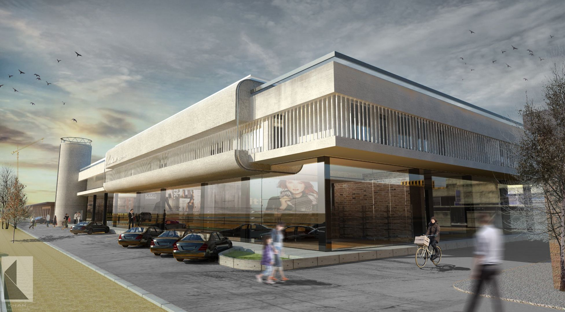 proposal design al Quds complex - kirkuk | commercial