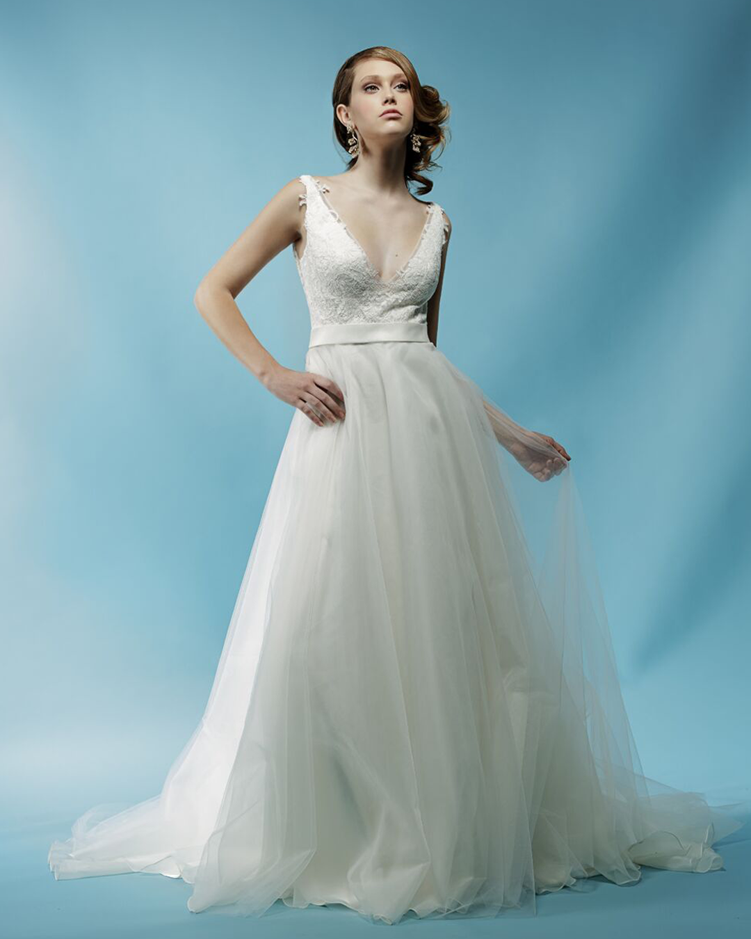 Noelle, Spring 2018 Collection | tulle ballgown | Ivy & Aster ...