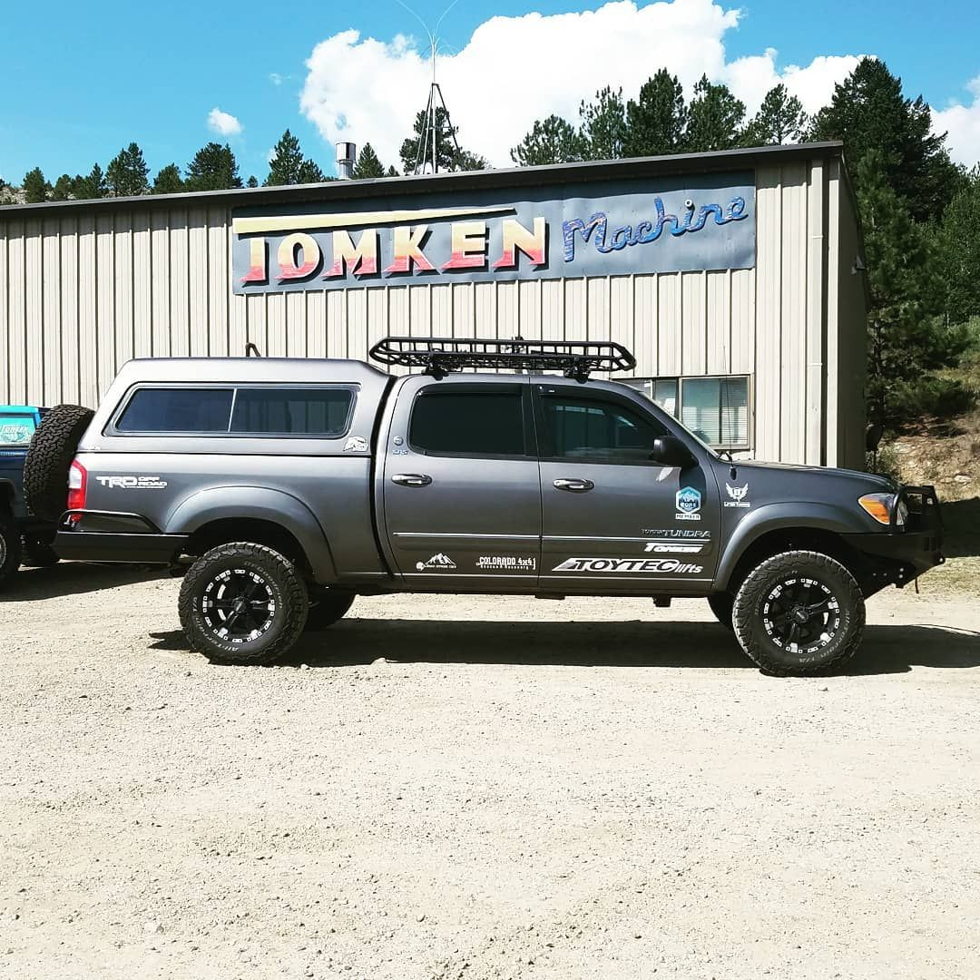 Thank You Tomken For The Awesome Work Installing The New Brute Force Fabrication Highrise Front And Rear Bump Toyota Tundra Toyota Tundra Trd Toyota Tundra 4x4