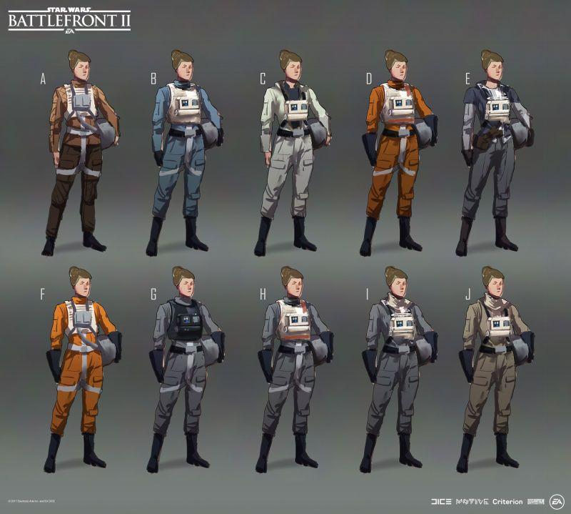 The Art Of Star Wars Battlefront Ii Star Wars Characters
