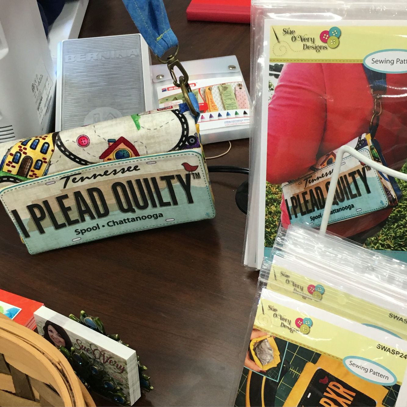 Sue OVery Design FabricPlate Row by Row inspired Mini bag ... : local quilt shops - Adamdwight.com