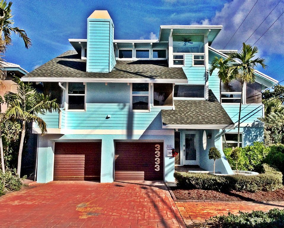 Ultimate Beach House Voted Perfect Get Away Steps From The Beachvacation Al In Fort Lauderdale