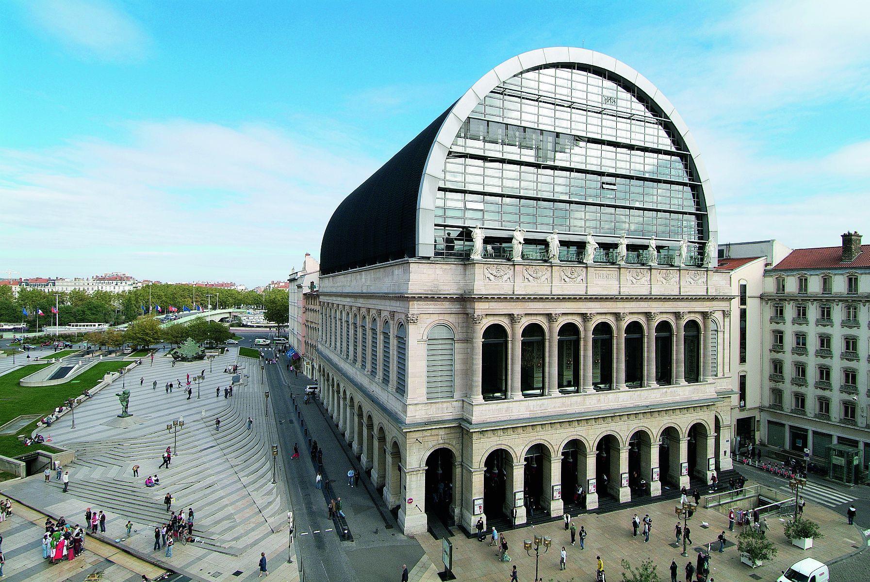 Opera Lyon France Jean Nouvel Jean Nouvel Lyon France Lyon City