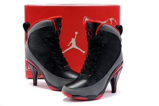 8e5bf3e8544 Black Nike Jordan 9 High Heels Sale In UK Store | Shoe Game Proper ...
