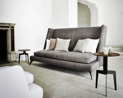 I Like This High Back Sofa With