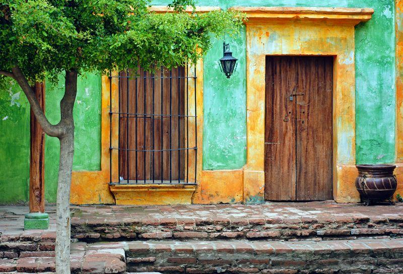 mexican Yucatan doors