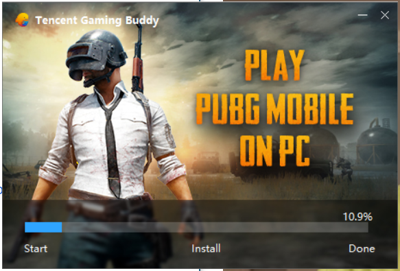 Download Tencent Gaming Buddy PUBG Mobile emulator for PC