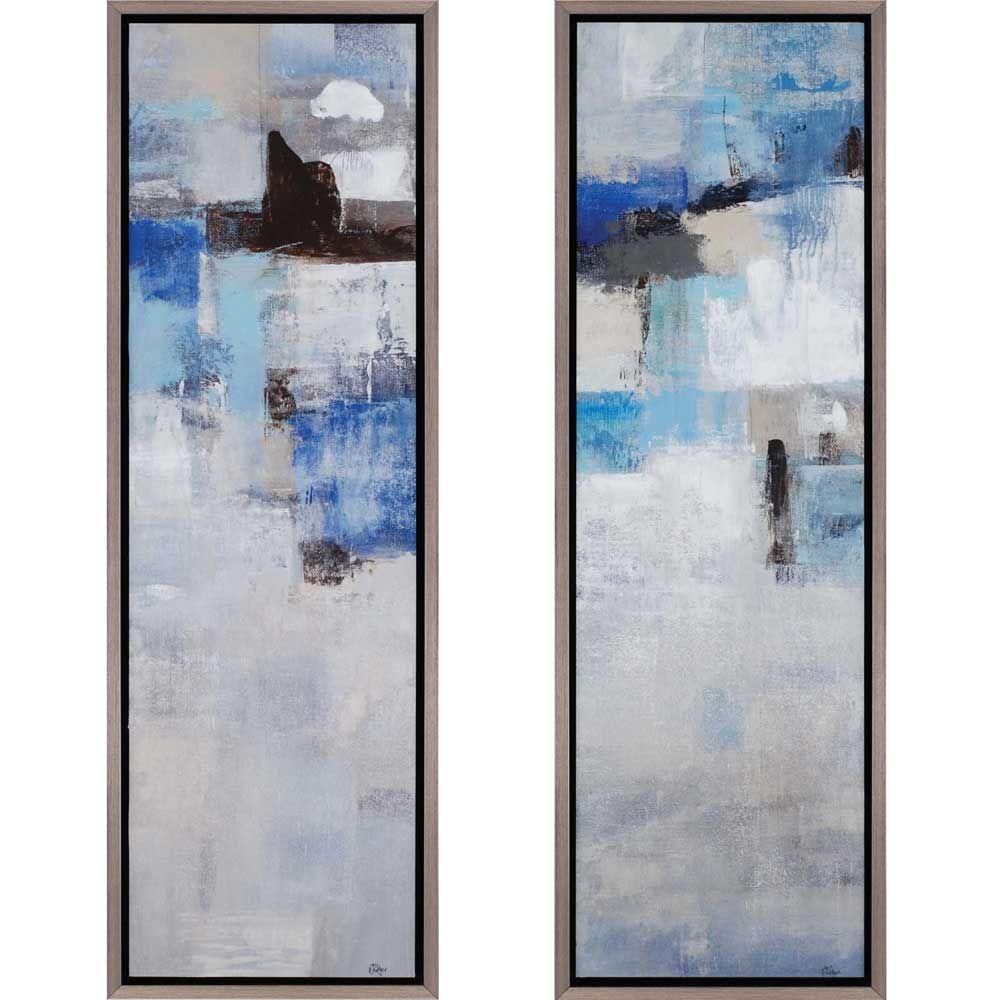 Karma/Kismet - Contemporary framed art designed by Candice Olson ...