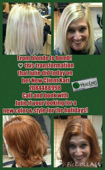 From blonde to bomb