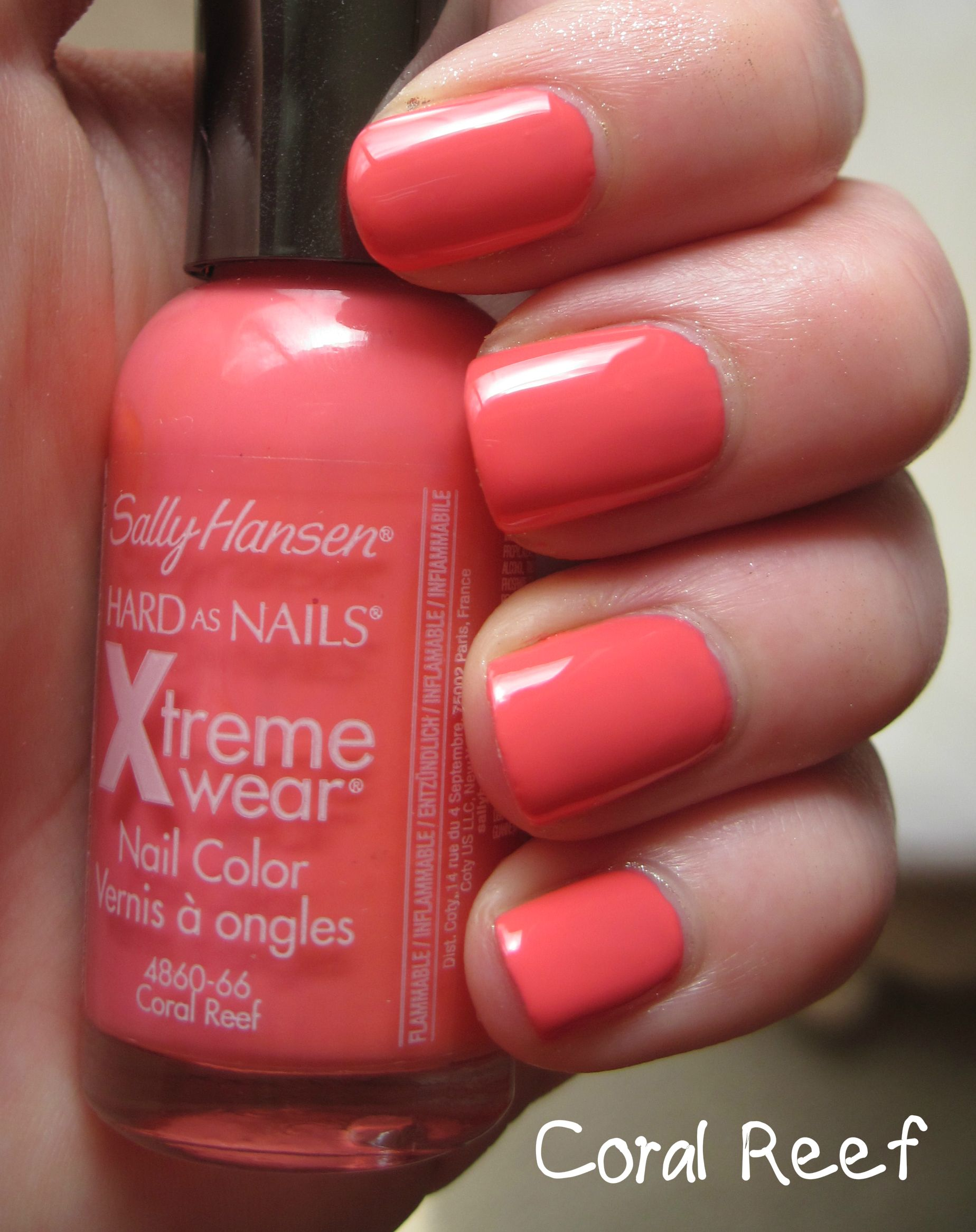 Sally Hansen Xtreme Wear 405 Coral Reef With Images Sally