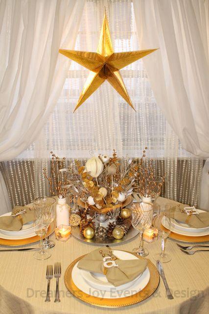 Holiday Christmas Christmas Holiday Party Ideas Photo 12 Of 29 Christmas Table Decorations Christmas Holiday Photos Christmas Table