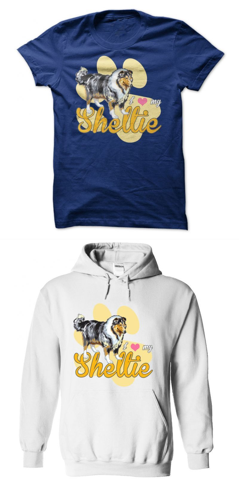 c1673c311a00 I Love My Sheltie! For Shetland Sheepdog Lovers! Dog T Shirt Diy #snoop  #dogg #t #shirt #uk #t #shirt #with #dog #logo #yellow #dog #t #shirt #your  #dog #on ...